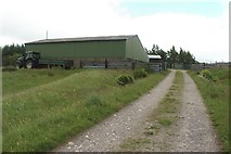 NN3578 : Farm shed at Fersit by Graham Robson
