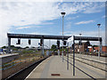 SK3635 : New signal gantry at Derby station by Stephen Craven
