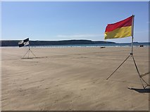 SM8513 : Marker flags by Alan Hughes