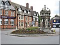 SJ7560 : Drinking Fountain, Sandbach by G Laird