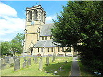SE4245 : The Church of St Mary the Virgin, Boston Spa by John Lord