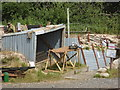SJ8248 : Entrance to the replica trench by Chris Allen
