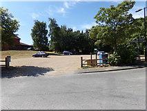 TM3864 : Kelsale Village Car Park by Adrian Cable