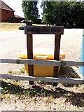 TM3864 : Village Car Park Sign by Adrian Cable