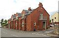 NU1300 : Former Memorial Hall, Rothbury Road, Longframlington by Graham Robson