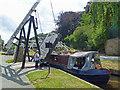 SJ2741 : Canal lift bridge, Froncysyllte by Robin Drayton