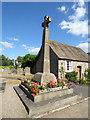 SE2688 : Bedale churchyard war memorial, west side by Stephen Craven