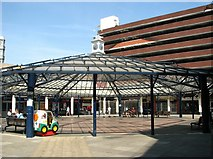 TG2309 : Anglia Square shopping centre - the pavilion by Evelyn Simak