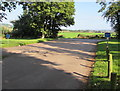 ST5899 : Exit from a car park and picnic area, Woolaston by Jaggery