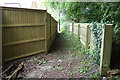 TM3569 : Lovers Lane Footpath to Pouys Street by Adrian Cable