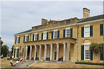 TQ1352 : South facade, Polesden Lacey House by M J Roscoe