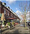 SP1193 : Parade of shops, Birmingham Road, Wylde Green, north Birmingham by Robin Stott