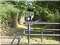 NZ2758 : Access control on the Angel Cycleway by Oliver Dixon
