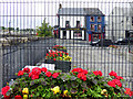 H4572 : Floral display near Strule Arts Centre, Omagh by Kenneth  Allen