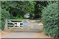 TQ1352 : Gateway to Home Farm House, Polesden Lacey by M J Roscoe
