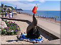 SX9472 : Teignmouth Seafront, The Bottle Nosed Dolphin by David Dixon