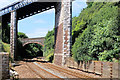 SX9473 : Bridges over the Railway at Teignmouth (East Cliff) by David Dixon