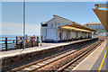 SX9676 : Dawlish Railway Station, Platform 1 by David Dixon