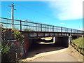 SP7463 : Railway bridge near Northampton by Malc McDonald