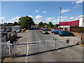 SE2890 : Leases Road level crossing, Leeming Bar by Stephen Craven