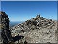 SH6457 : The summit rocks of Glyder Fawr by Richard Law
