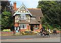 TQ3373 : Lodge by Old College Gate by Des Blenkinsopp