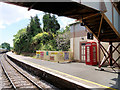SX8956 : Platform 2 at Churston Railway Station by David Dixon