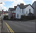 ST3089 : Warning sign - bend, Barrack Hill, Newport by Jaggery