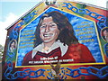 J3274 : Mural to Bobby Sands, 49 Falls Road by Stuart Taylor
