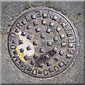 C8540 : Manhole cover, Portrush by Rossographer