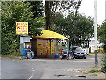 TL8526 : Elson Hand Car Wash at Earls Colne by Adrian Cable