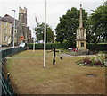 SO0451 : Grade II listed Builth Wells War Memorial by Jaggery