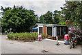 TQ2761 : Café, Oaks Park by Ian Capper