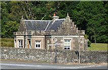 NS0667 : Kames Castle gate lodge by Thomas Nugent