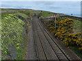 NT9758 : East Coast Main Line towards Edinburgh by Mat Fascione
