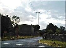 SP0218 : Farm entrance on the A436, Andoversford by David Howard