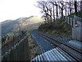 SN7377 : On the Coed Ty'n-y-castell foot crossing by John Lucas