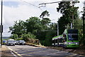 TQ3563 : Tram at Gravel Hill by Peter Trimming