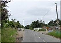 SO8700 : Cattle grid in Woefuldane Bottom, Minchinhampton by David Smith