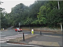 SO8405 : Roundabout on Stratford Road, Stroud by David Howard