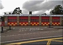 SO8305 : Stroud Fire Station by David Howard