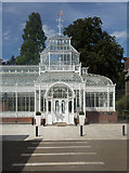 TQ3473 : Forest Hill : Horniman Museum conservatory by Julian Osley