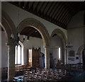 TF0118 : Church of St. Medard & St. Gildard: The South Arcade by Bob Harvey