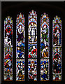 TF0118 : Church of St.Medard & St.Gildard: East Window by Bob Harvey