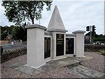 SD5519 : Lest We Forget, Euxton War Memorial by David Dixon