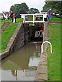SP5968 : Watford staircase locks in Northamptonshire by Roger  Kidd