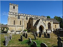 SP1106 : Bibury church by Philip Halling