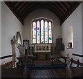 TF0118 : Church of St.Medard & St.Gildard: The Chancel by Bob Harvey