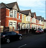 ST3288 : West side of Somerset Road, Newport by Jaggery