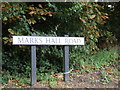 TL8524 : Marks Hall Road sign by Adrian Cable